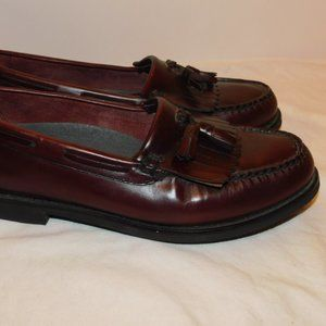 Rockport Genuine Hand Sewn Leather Loafers Size 9